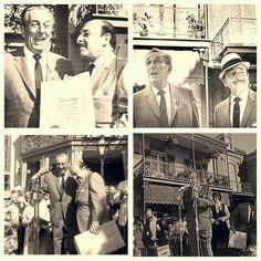 Walt's last public appearance at Disneyland.