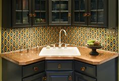 Kitchen Corner sink Images - - Yahoo Image Search Results