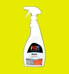 Fuze MoGo Mould Remover, Removes All Mould Within 24 HRS - Completely Bleach FREE - Use On Fabrics, Plaster, Wood, Etc.