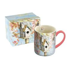 Lang 5021089 Summer Birdhouse Mug by Tim Coffey 14 oz Assorted * Read more  at the image link.