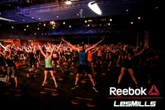 The ultimate fitness event in action