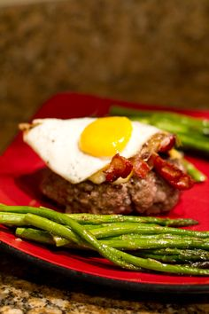 low carb brunch burger recipe