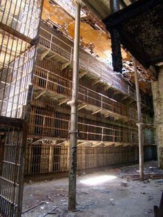 OSR - Mansfield, Ohio. Fascinating place to tour (especially with a corrections officer!)