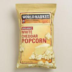 One of my favorite discoveries at WorldMarket.com: World Market® White Cheddar Popcorn