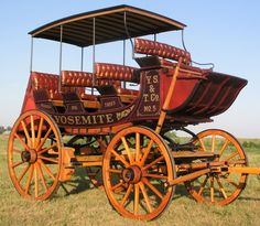 I'm nuts, I know, I'd love to have this.  HansenWheel.com: Old West Stagecoach, Concord Stagecoach, Yosemite Stagecoach