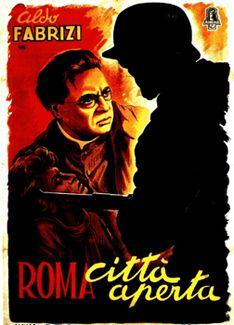 roma citta aperta, 1945  by Roberto Rossellini. 1º filme neorealista