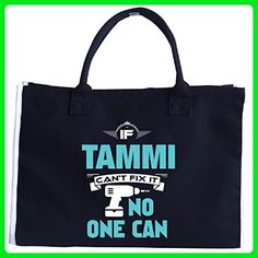 If Tammi Can't Fix It No One Can Awesome Tammi Gift - Tote Bag - Top handle bags (*Amazon Partner-Link)