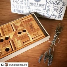 We agree! Wooden Story is gorgeous for mumma & bub #repost @awholesome.life with @repostapp ・・・ The most beautiful @woodenstory blocks arrived today ❤️✌ #woodenstory #peaceandlove #woodentoys #ecotoys #poland #woodenblocks