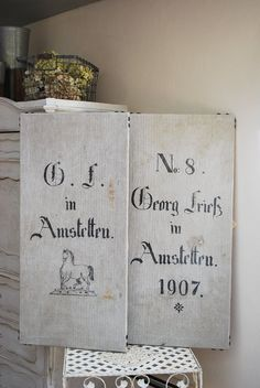 This WEEK's CRAZY SALE Pair of Antique German Grain Sacks, hand-drawn horse, wall-hangings, nail head trim