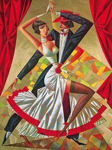 Georgy Kurasov 1958 | Russian cubist