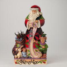 $61.00 SRP  Two-Sided Naughty-Nice Santa