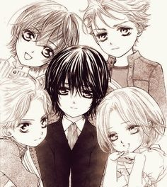Vampire Knight- The Night Class Gang as Kids | LOOK AT LITTLE AIDO ISN'T HE SOOOO CUTE??????
