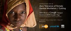 Feb 6th 2013 is the first-ever International Day of Zero Tolerance to Female Genital Mutilation.   FGM/C is globally recognized as a harmful practice and a violation of the human right of girls and women.