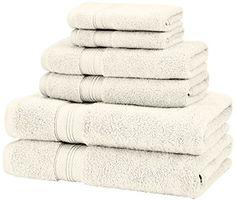 Pinzon Pima Cotton Towel Set, Ivory - Home Central Products Directory Bath Towel Sets, Bath Towels, Plane 2, Eco Store, Tesco Groceries, Egyptian Cotton Towels, Discount Online Shopping, White Towels, Best Pillow