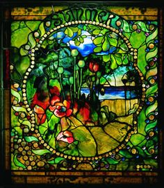 Summer Panel from the four Seasons Window, c. 1899-1900 Clara Driscoll