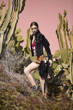 Jacket, halter & shorts coming soon! #NastyGalVintage #VintageWestern