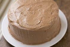 Marilyn Kings chocolate sour cream cake