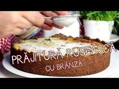 Prajitura ruseasca cu branza si zmeura | Bucatar Maniac