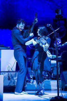 Jack White & Lillie Mae Rische at Red Rocks 8/20