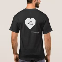 Black T-shirt for men - gift for him present idea cyo design