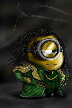 Minion Loki. This just happened.