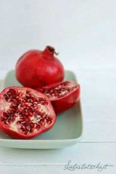 pomegranate…….great sprinkled onto  a salad;   mix seeds into oatmeal;