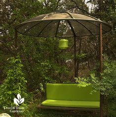 Satellite dish shade cover