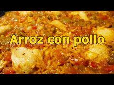 ARROZ CON POLLO Y VERDURAS - recetas de cocina casera y facil