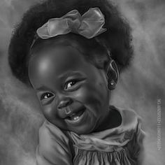 #babies #babiesofinstagram #laughter #joy. S.A.E! Black Love Art, Black Girl Art, My Black Is Beautiful, Black Girl Magic, Art Girl, Black Art Painting, Black Artwork, African American Artwork, African Art