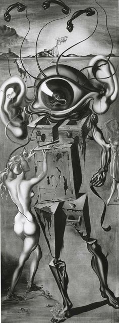 Salvador Dali - Surrealism - The Seven Lively Arts - Art of Cinema - 1944 By Niki Kaliakatsou Max Ernst, Pablo Picasso, Salvador Dali Kunst, Salvador Dali Paintings, Jean Arp, Alberto Giacometti, Magritte, Art Moderne, Surreal Art