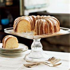One of my favorite Cooking Light recipes: Lemon Pound Cake with Chambord Glaze | MyRecipes.com