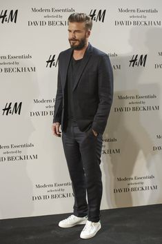 David Beckham in H&M