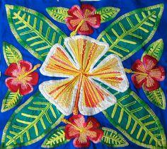 cook island hibiscus tivaeva  Cook Island inspired Tivaeva I did Wish I could do a really big one like I saw over there