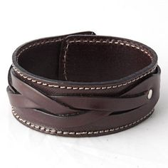 Leren armband by Kupka via DaWanda