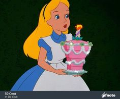 Alice In Wonderland Birthday GIF - Tenor GIF Keyboard - Bring Personality To Your Conversations