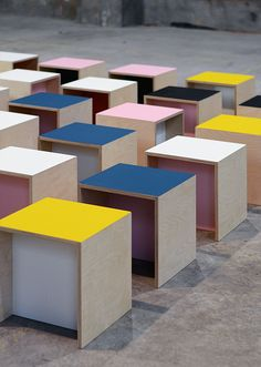 nortstudio | A multifunctional object that can be used as a chair or table for kids