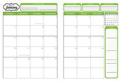 31 Days of Home Management Binder Printables: Day #2 ~ 2012-2013 Calendar