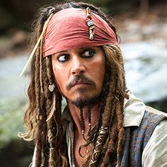 """- In a recent interview with E!  Johnny Depp noted that he always carries his Captain Jack Sparrow costume with him, but maybe not for the reason you think. """"Sometimes you go to kiddie hospitals and things like that,"""" he said. """"I'll just sneak in and go and surprise a bunch of kiddies through the different wards. ...  Love him :) <3"""