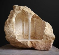 amazing stone carving of vaulted spaces . Chapter House. Image © Matthew Simmonds