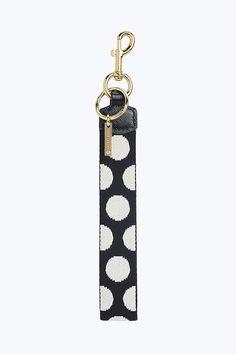 3b5ce83cf710 Marc Jacobs Polka Dot Webbing Bag Charm in Black Multi Marc Jacobs Bag, My  Favorite
