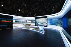 Resultado de imagen de set design tv