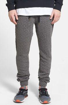 ZANEROBE // 'Dropshot' Quilted Jogger Pants