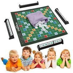 New Scrabble Board Game Brand Crossword Game Letters Tiles For Family Kids Friends Junior Travel By KTOY