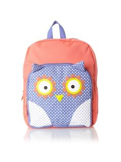 """FAB Starpoint 3D Buddies 12"""" Owl Backpack"""