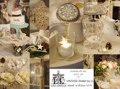 """Ein paar Impressionen aus dem """"Vintage-Atelier by LL"""" im Weihnachtskleid - Samstag 12.12.2015, 14.00 - 18.00 Uhr.  Ihr seid alle herzlich eingeladen und wir freuen uns auf euch. lovely, Annalisa & Team - www.lisalibelle.ch"""