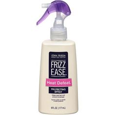 John Frieda Collection Frizz-Ease Heat Defeat Protective Styling Spray, 6 fl oz - Walmart.com
