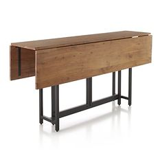Origami Drop Leaf Dining Table In Tables