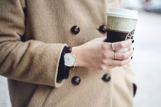 #Starbucks #Rings #Watch and #Camel coat