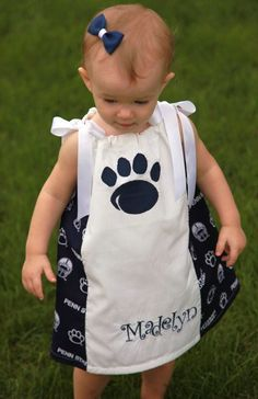 Personalized Penn State dress~~~~ONE DAY when I have a girl :)