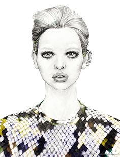 Sleek by mina kim, via Behance